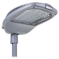Straßenleuchte bestehend aus 49 bis 75 LED mit Ansteuerungsstrom von 530mA bis 1000mA je nach LED-Typ.     LED von Qualitätsmarken (Luxeon T und Cree XM-L 2), montiert auf Leiterplatten aus Alumi